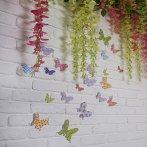фото бабочки на стену