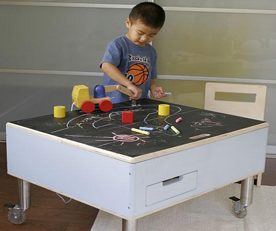 декор детской, оформление детской, дизайн детской, детский столик, наклейка для рисования