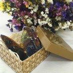 фото объемные бабочки упаковка, в такой коробочке приедут бабочки к вам