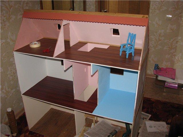 Чертёж кукольный домик своими руками фото 168