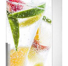 Наклейка на холодильник Лимонад фото