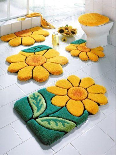 коврики в ванную фото