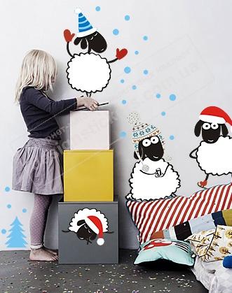 новогодние барашки фото, подарок на новый год фото