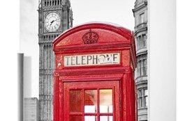 наклейка на холодильник Лондон фото, наклейка на холодильник город фото, виниловая наклейка лондон фото
