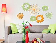 наклейки на стены цветы фото, виниловые наклейки цветы фото, фото наклейки цветы, наклейки на обои цветы фото, декоративные наклейки цветы ф