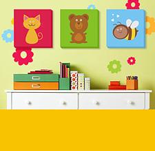 Детские картины и постеры на стены