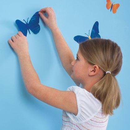 фото аппликация на стену бабочки