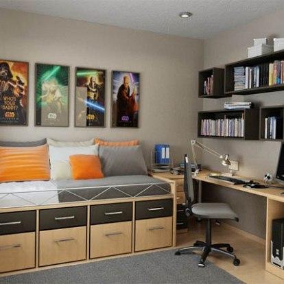 фото дизайн комнаты подростка