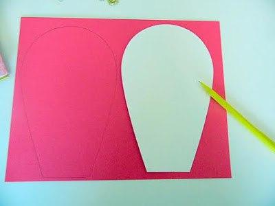 как сделать цветок из бумаги фото