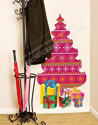 украсить дом к новому году, украсить комнату к новому году, украсить квартиру к новому году, елка