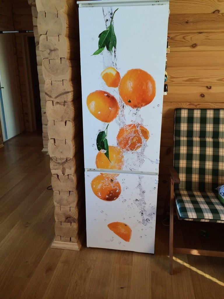 наклейка апельсины фото