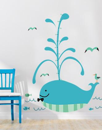 детский ростомер фото, наклейка ростомер фото, наклейка кит фото, морские наклейки фото, наклейки для детской в морском стиле фото, наклейка кит фото, наклейка в виде кита фото