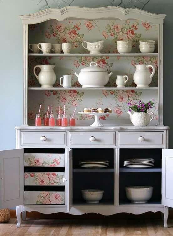 декоративная роспись мебели фото, декор кухонного гарнитура фото