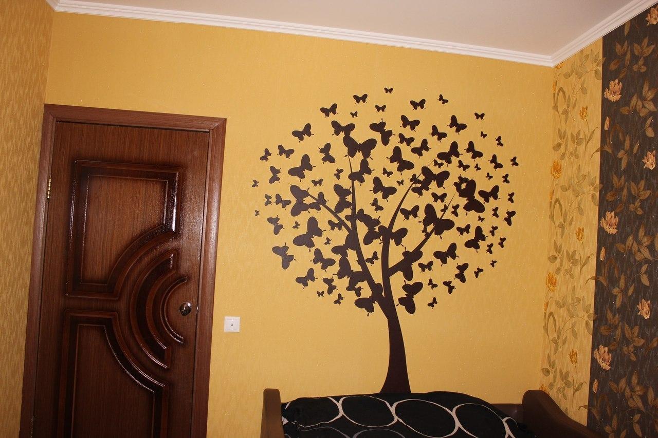 наклейка дерево фото