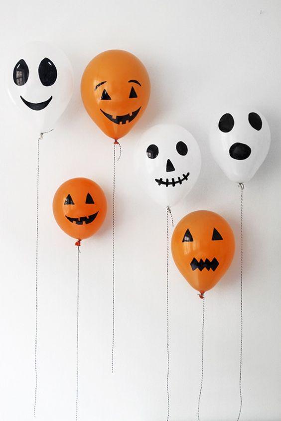 декор на хэллоуин фото, декор на хэллоуин своими руками фото