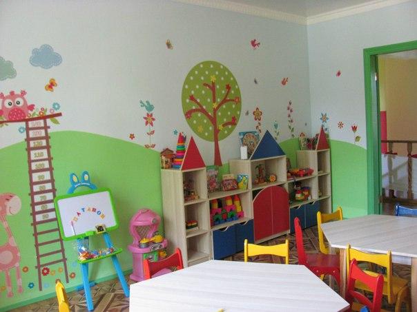 оформление для детского сада наклейками фото