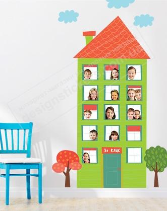 фото дизайн класу нуш, фото ідеї оформлення класу, дім для фото класу