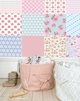 фотообои печворк фото, фото фотообои для девочки, фотообои в комнату девочки розовые фото, фотообои нежные для девочки фото