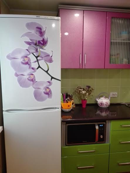 наклейка орхидея фото