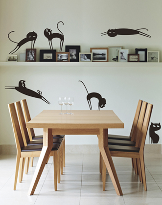 фото наклейки кошки, фото наклейки на стены дикие кошки, фото наклейки кошки купить в Киеве, фото дикие кошки
