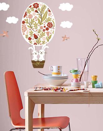 пасхальное украшение для витрины кафе магазина и дома фото