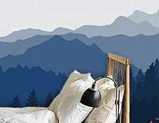 фото дизайн стикерс фотообои лес виниловые