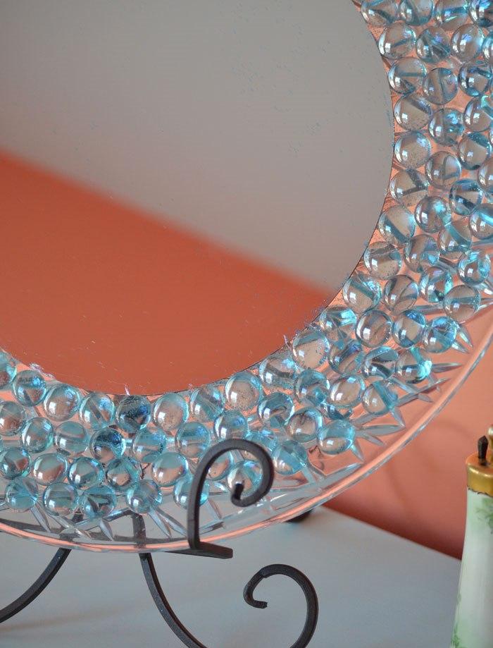 фото декорирование зеркала