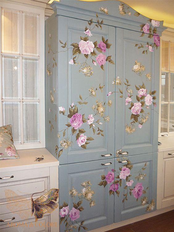 декоративная роспись фото, кухонный гарнитур своими руками фото
