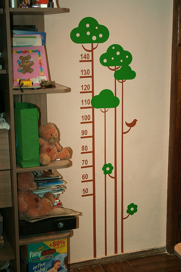 декор на стены, виниловые наклейки, наклейки на стены, ростомер, наклейки на стены, декор стен
