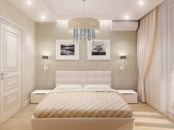 фото маленькая спальня мебель