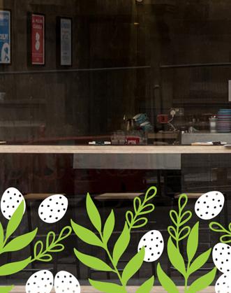 пасхальный декор фото, оформление витрин на пасху фото, пасхальный декор своими руками фото, пасхальный декор витрин фото, украшение витрин на пасху фото