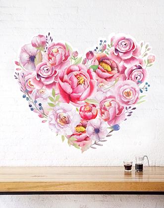оформление кофейни к 14 февраля фото, декор витрины ко дню влюбленных фото, декор кофейни к 14 февраля фото, декор магазина к 14 февраля фото
