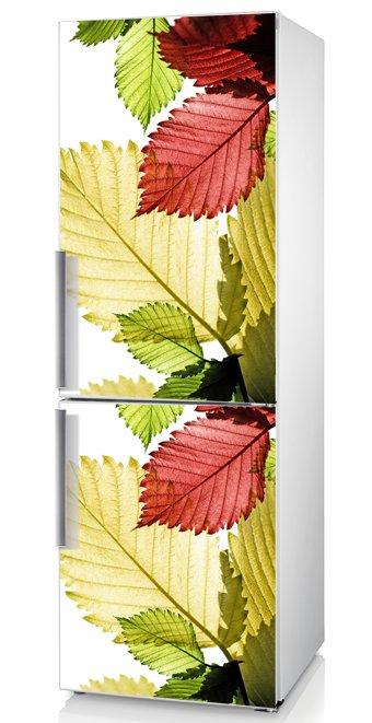 """наклейка на дверь холодильника """"осень""""  - изысканный способ декора!"""